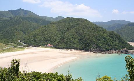 高浜海水浴場(五島市三井楽)